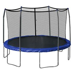 15' DIAMETER SKYWALKER SWJD15B TRAMPOLINE WITH 6' ENCLOSURE COMBO ( 2 BOXES )