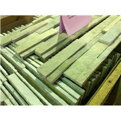 CRATE OF FRENCH VANILLA  6X24  LEDGER  WALL STONE