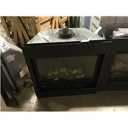 MONTIGO BLACK GAS FIREPLACE INSERT