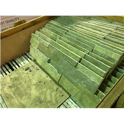 CRATE OF FRENCH VANILLA 16X6 LEDGER STONE TILE