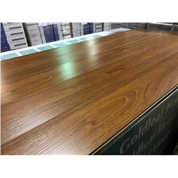 GOLDLEAF 7392 12MM WALNUT OAK GLUELESS LAMINATE FLOORING