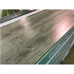 GOLDLEAF 10.8MM 1671 ASH GREY OAK GLUELESS LAMINATE FLOORING