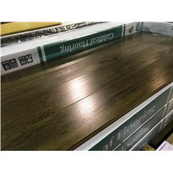 GOLDLEAF 10.8MM 1990C WALNUT GLUELESS LAMINATE FLOORING