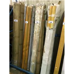 ASSORTED STRAND WOVEN SOLID BAMBOO TRANSITION MOLDINGS