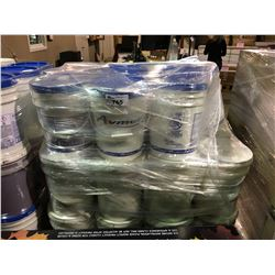 PALLET OF ASSORTED 5 GAL PAILS WITH JANITORIAL CHEMICALS