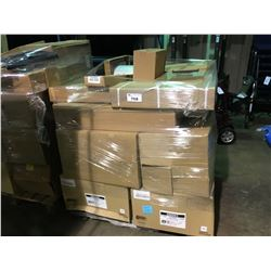 PALLET OF ASSORTED FIRE PLACE DUCTING & PARTS