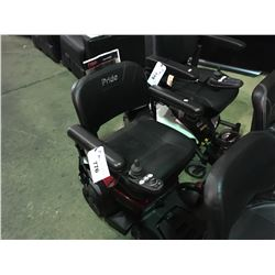 PRIDE MOBILITY GO CHAIR POWER CHAIR WITH CHARGER