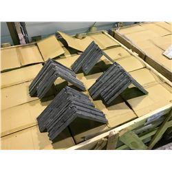 CRATE OF LEDGESTONE SCHZCECOR GREY ONYX CORNER WALL STONE