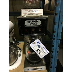 BUNN OMATIC COFFEE BREW STATION, DICKSON STAINLESS STEEL COFFEE HOT PLATE & SINGLE HOT PLATE WITH
