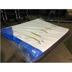 "KINGSDOWN SQUEEZE QUEEN SIZED 7"" THICK MATTRESS IN A BOX"
