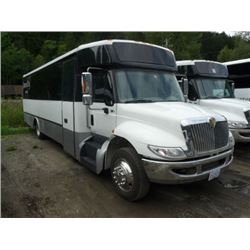 2011 INTERNATIONAL BODY STYLE NON-SCHEDULED BUS 24 PASSENGER TOUR BUS W/AUTOMATIC