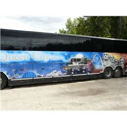 1999 WHITE PREVOST H 3-40 BODY STYLE NON-SCHEDULED 56 PASSENGER TOUR BUS