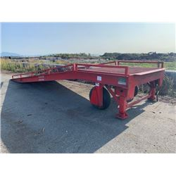 DURA RAMP MODEL DRM30 7'6X23' INCLINE RAMP (LOCATED AT 7028 YORK RD. RICHMOND)