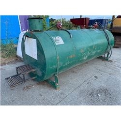 2003 TIDY TANK APPROX 4200L CAPACITY FUEL TANK WITH 2 FIL-RITE PUMPS (LOCATED AT 7028 YORK RD.