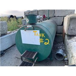 2003 TIDY TANK APPROX 4200L CAPACITY DIESEL TANK WITH 1 FIL-RITE PUMPS (LOCATED AT 7028 YORK RD.