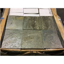"ZEERA GREY 12""X12"" NATURAL SLATE TILE FLOORING"