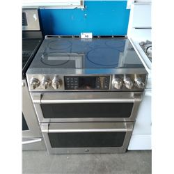 LG CAFE STAINLESS STEEL ELECTRIC RANGE STOVE/OVEN WITH WIFI & BLUETOOTH
