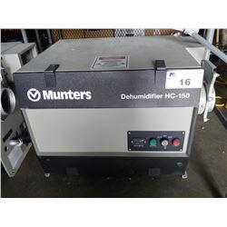 MUNTERS DEHUMIDIFIER HC-150