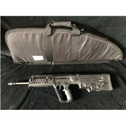 TAVOR IWI X95 .223 REM 18.6  BLACK RIFLE, SERIAL# 48219818 - PAL REQUIRED