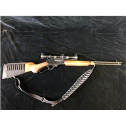3030 MODEL 336 MARLIN LEVER ACTION RIFLE WITH BUSHNELL SCOPE - PAL REQUIRED