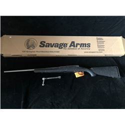 SAVAGE AXIS WEB/SS 7MM-08 RIFLE, SERIAL# J232592 - PAL REQUIRED
