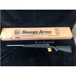 SAVAGE AXIS XP 308WIN 22 DM STAINLESS RIFLE, SERIAL# H967700  - PAL REQUIRED