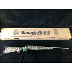 SAVAGE AXIS DEER CAMO STAINLESS 30-06 RIFLE, SERIAL# J408407 - PAL REQUIRED