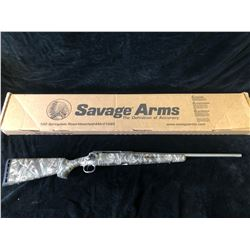 SAVAGE AXIS DEER CAMO STAINLESS 7MM-08 RIFLE, SERIAL# J029559 - PAL REQUIRED