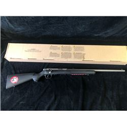 SAVAGE MKII FSS 22LR 21 STAINLESS ACCUTRIGGER 10 RIFLE, SERIAL# 2256418 - PAL REQUIRED