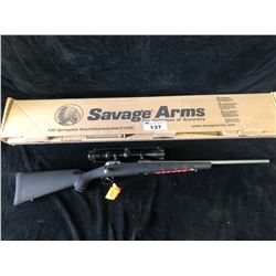 SAVAGE 11 HUNTER 308 XP STAINLESS RIFLE, SERIAL# J119421 - PAL REQUIRED