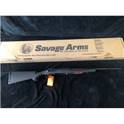 SAVAGE AXIS SYN/BLUED 243 RIFLE, SERIAL# J403207 - PAL REQUIRED