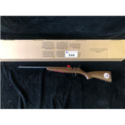 SAVAGE RASCAL 22S/L/LR 16.1  WOOD BLUED LEFT HAND RIFLE, SERIAL# 2234922 - PAL REQUIRED