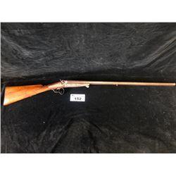 ANTIQUE HANDMADE DOUBLE BARREL 12G SHOTGUN - PAL REQUIRED