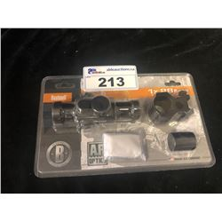 BUSHNELL 1X28 AR OPTICS 4 R/G MATTE BLACK RED DOT SIGHT