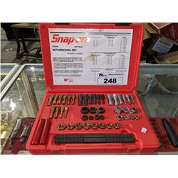 SNAP-ON 48PC MASTER RETHREADING TAP AND DIE SET