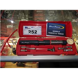 SNAP-ON BLUE-POINT BUTANE SOLDERING IRON KIT (YAS32)