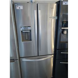 WHIRLPOOL STAINLESS STEEL FRENCH DOOR FRIDGE/FREEZER WITH WATER & ICE