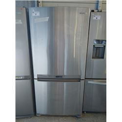 SAMSUNG STAINLESS STEEL FRIDGE/FREEZER