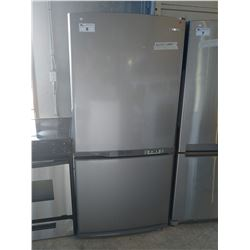 SAMSUNG GREY FRIDGE/FREEZER