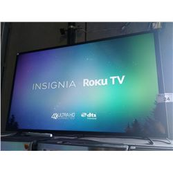 "50"" INSIGNIA LCD TV, MODEL# NS-50DR620CA18 - LINE IN SCREEN"