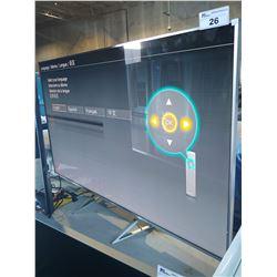 "65"" PANASONIC LED LCD TV, MODEL# TC-65DX800C - PATCH IN SCREEN"
