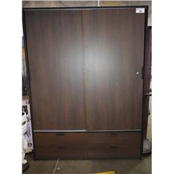 APPROX. 6.5' WARDROBE WITH DRAWERS