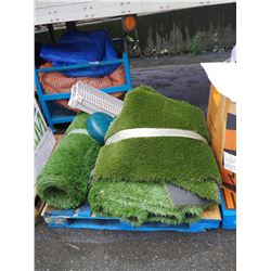 PALLET OF TURF AND MORE