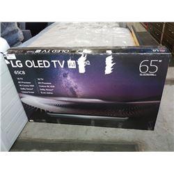 "65"" LG OLED 4K AITV MODEL # 65C8"