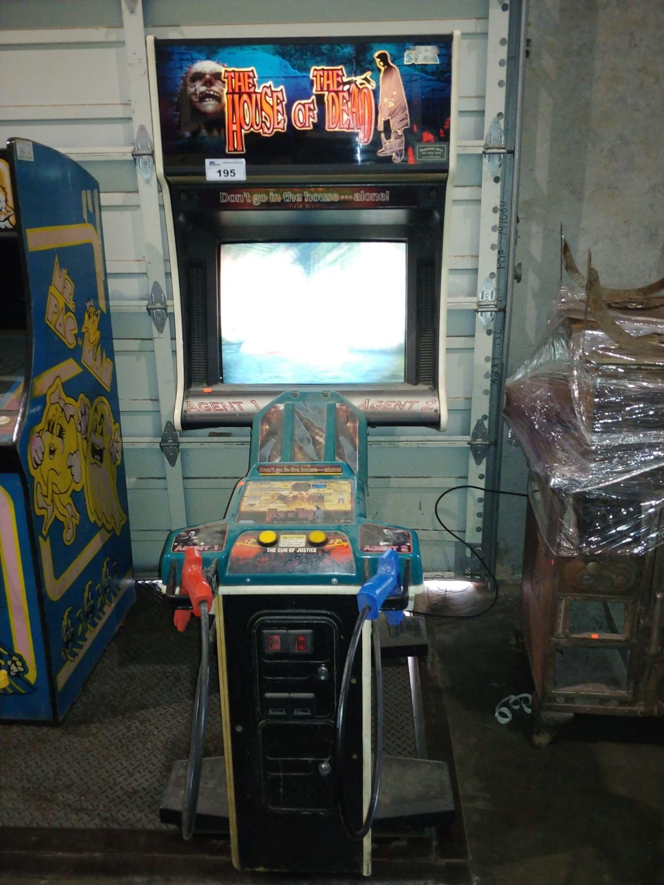 House Of The Dead Arcade Machine Sega