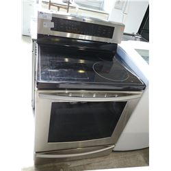 STAINLESS STEEL SAMSUNG ELECTRIC STOVE