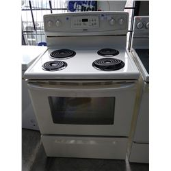 WHITE KENMORE ELECTRIC STOVE