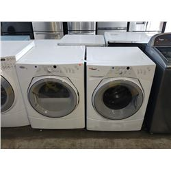 WHITE WHIRLPOOL DUET SPORT WASHER/DRYER SET