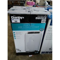 DANBY PORTABLE A/C UNIT, 12,000 BTU