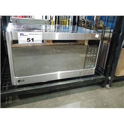 LG STAINLESS STEEL MICROWAVE OVEN